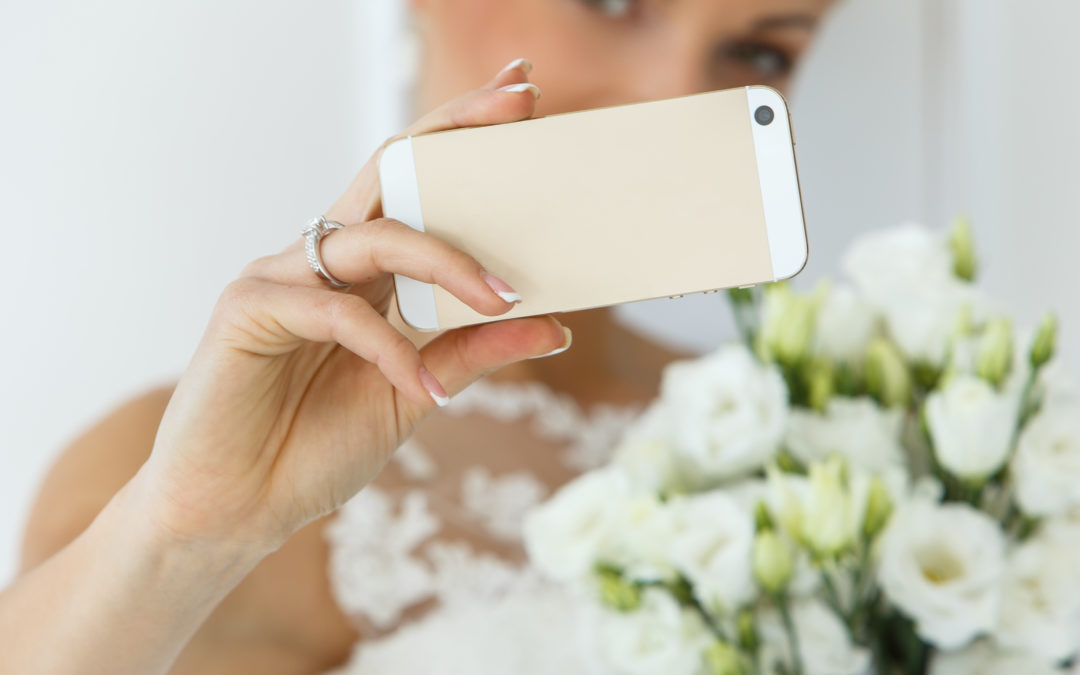 How to Collect Wedding Photos Taken by Your Guests